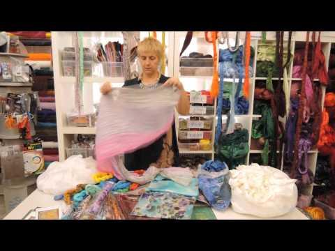 Шелковые ткани для валяния, нунофетинга. Ассортимент магазина Шкатулочка