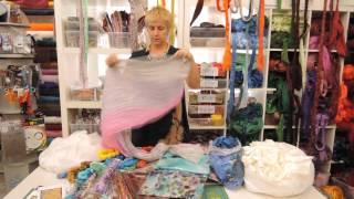 видео Хороший магазин красивых тканей