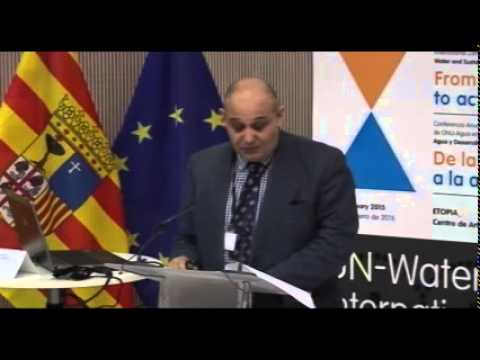 UN-Water Conference 15/01/2015, 9-10.30h. Regional Sessions - Europe