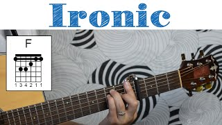 "How To Play ""Ironic"" by Alanis Morissette"