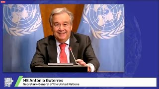 Climate Ambition Summit 2020 – UN Chief