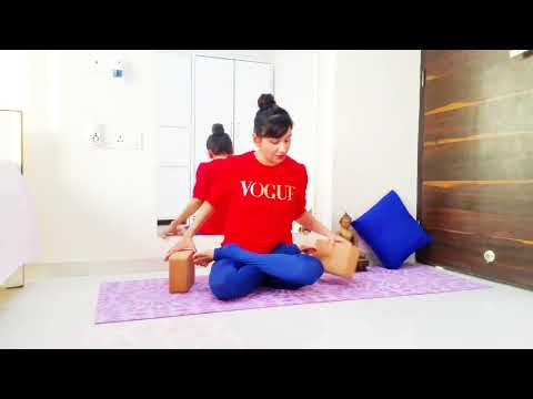 How to do Lotus pose / Padmasana for strong knees & ankles Advance