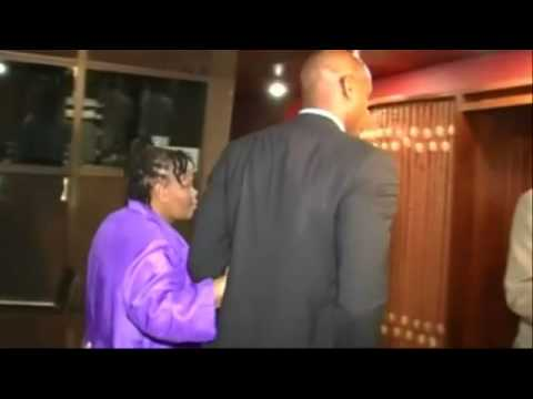 Asafa Powell's mum at doping trial: 'God will take care of everything' -- video