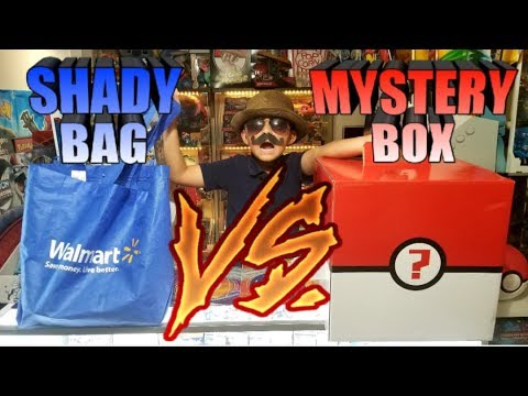 BIGGEST MYSTERY BOX VS. SHADIEST WALMART BAG!! What's Inside?! MBM #17