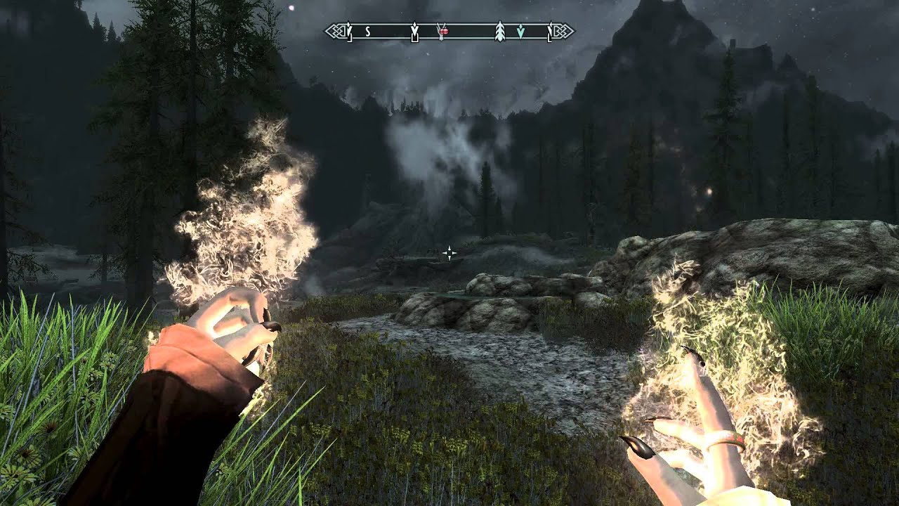 "Free Checking Claw Nails Mod For Skyrim Lord Of The Rings The ""one"" Ring"