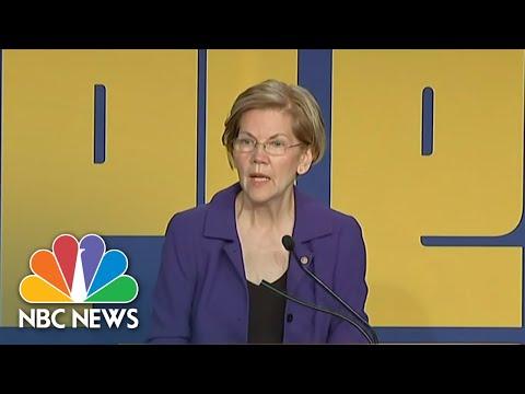 Senator Elizabeth Warren: There Is 'Corruption' In President Donald Trump Administration | NBC News