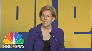 Senator Elizabeth Warren: There Is 'Corruption' In President Donald Trump Administration | NBC News