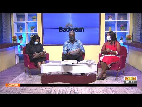 Badwam Newspaper Review on Adom TV (17-9-21)