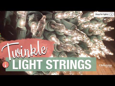 Twinkle Light Strings