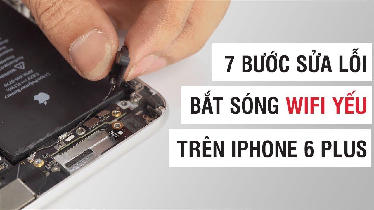 7 bước sửa lỗi bắt sóng wifi yếu trên iPhone 6 Plus   Điện Thoại Vui