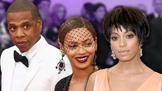 Beyonce's Sister Solange Attacks Jay Z