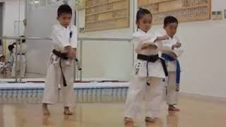 7 Years Old kinds Karate Master | Incredible Kankudai Demo  Kata