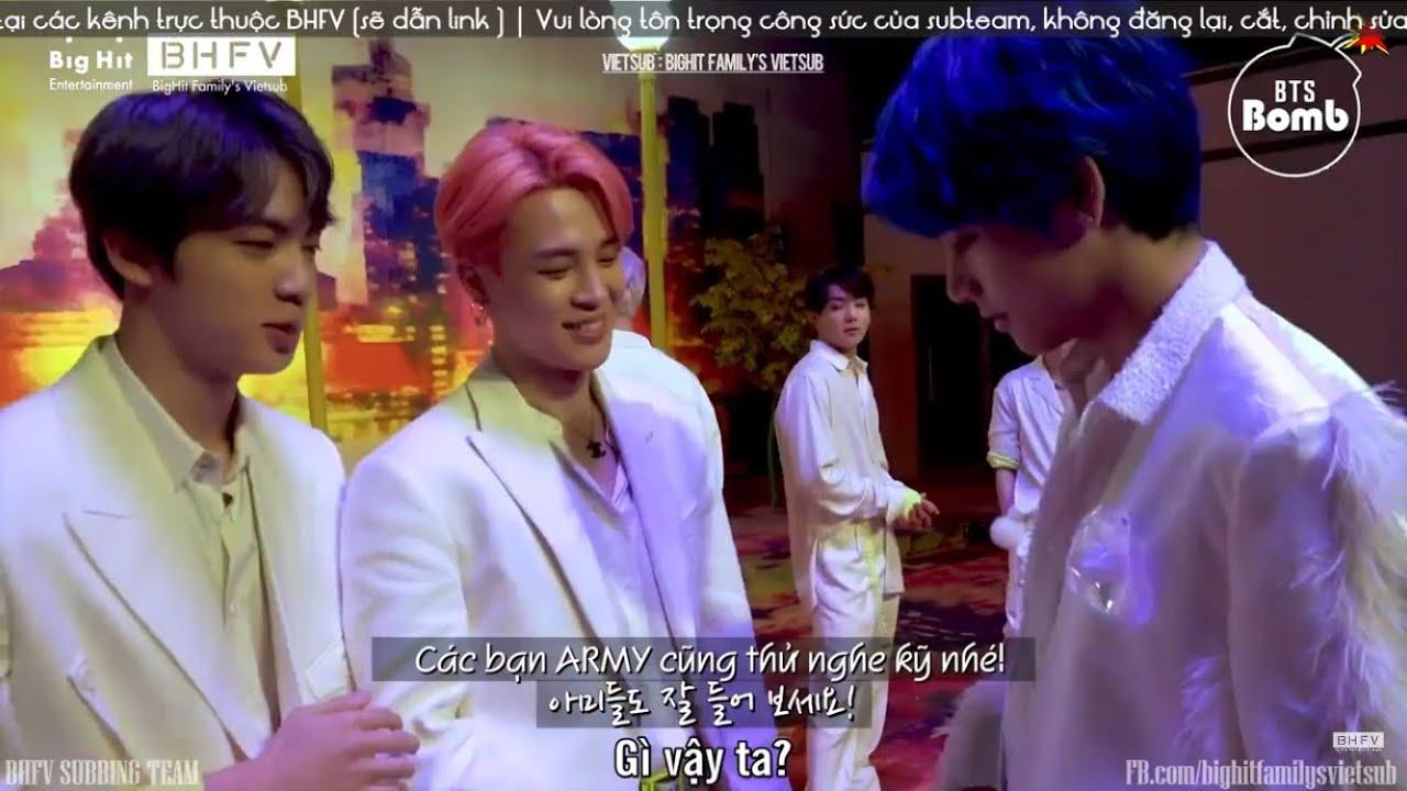 [VIETSUB] 200701 Màn giả giọng ngắn ngủi ngọt ngào của Jimin [BANGTAN BOMB]  - BTS (방탄소년단)