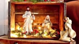 COMO HACER NACIMIENTO DE JESUS / NATIVITY SCENE /POSADAS NAVIDENAS +15 IDEAS