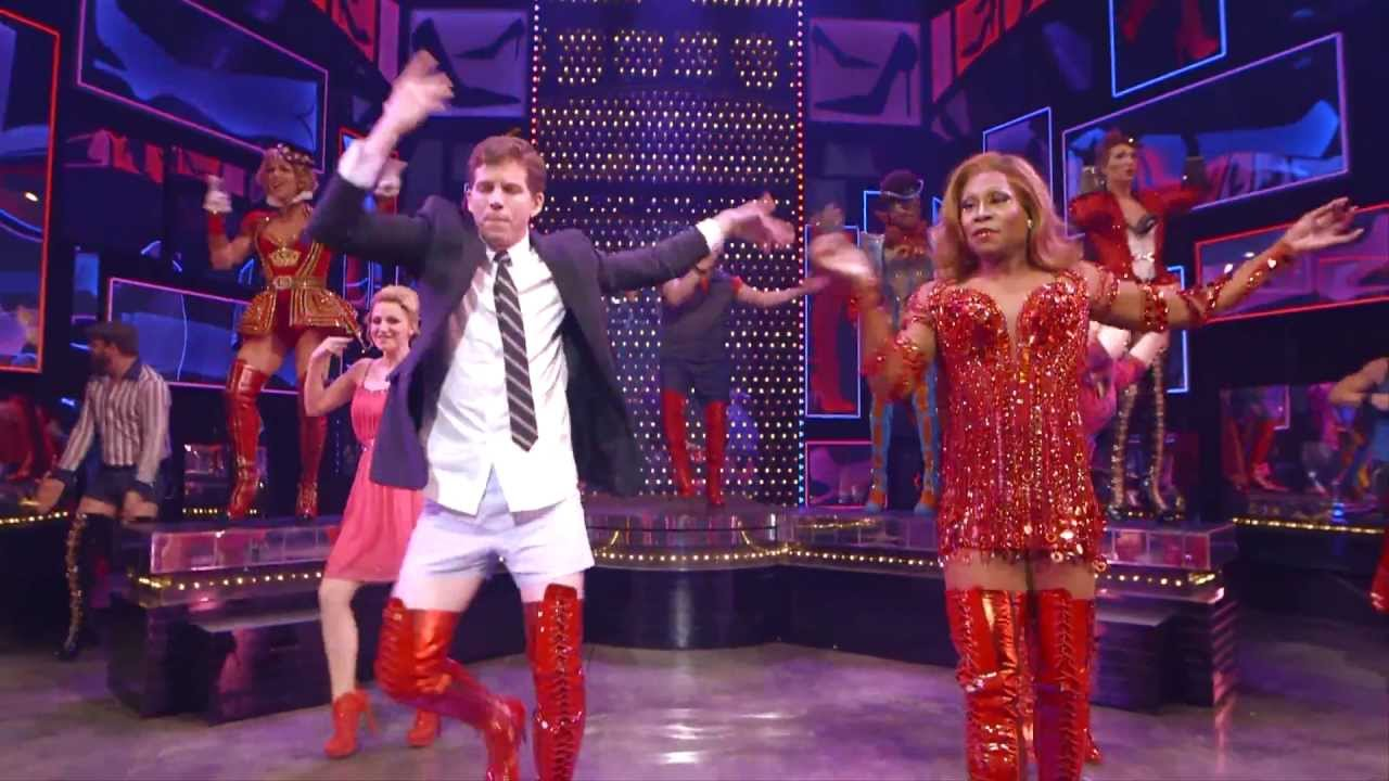 Raise You Up From Kinky Boots On Broadway Youtube