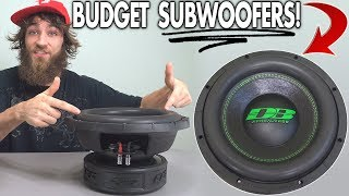"$200 Subwoofer EXPOSED w/ 12"" Deaf Bonce APOCALYPSE Free Air Excursion 