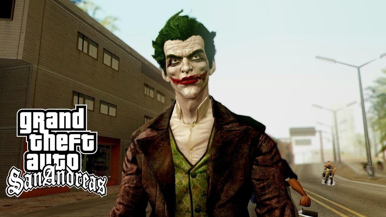 GTA San : Joker Batman...