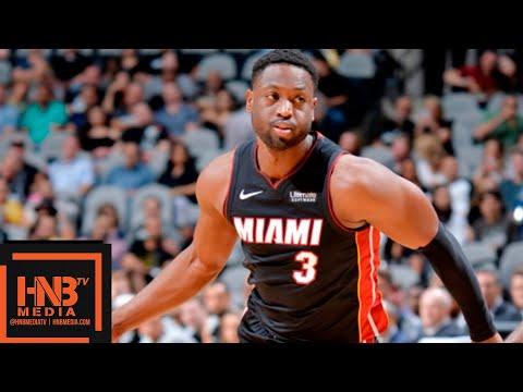 San Antonio Spurs vs Miami Heat 1st Qtr Highlights   30.09.2018, NBA Preseason