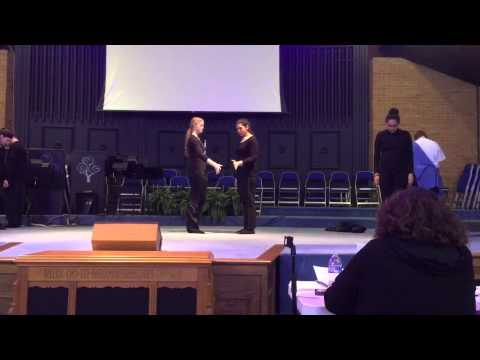 """WCN Teens Performing """"Wake Up"""" by NF"""