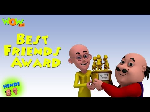Best Friends Award - Motu Patlu in Hindi WITH ENGLISH, SPANISH & FRENCH SUBTITLES thumbnail