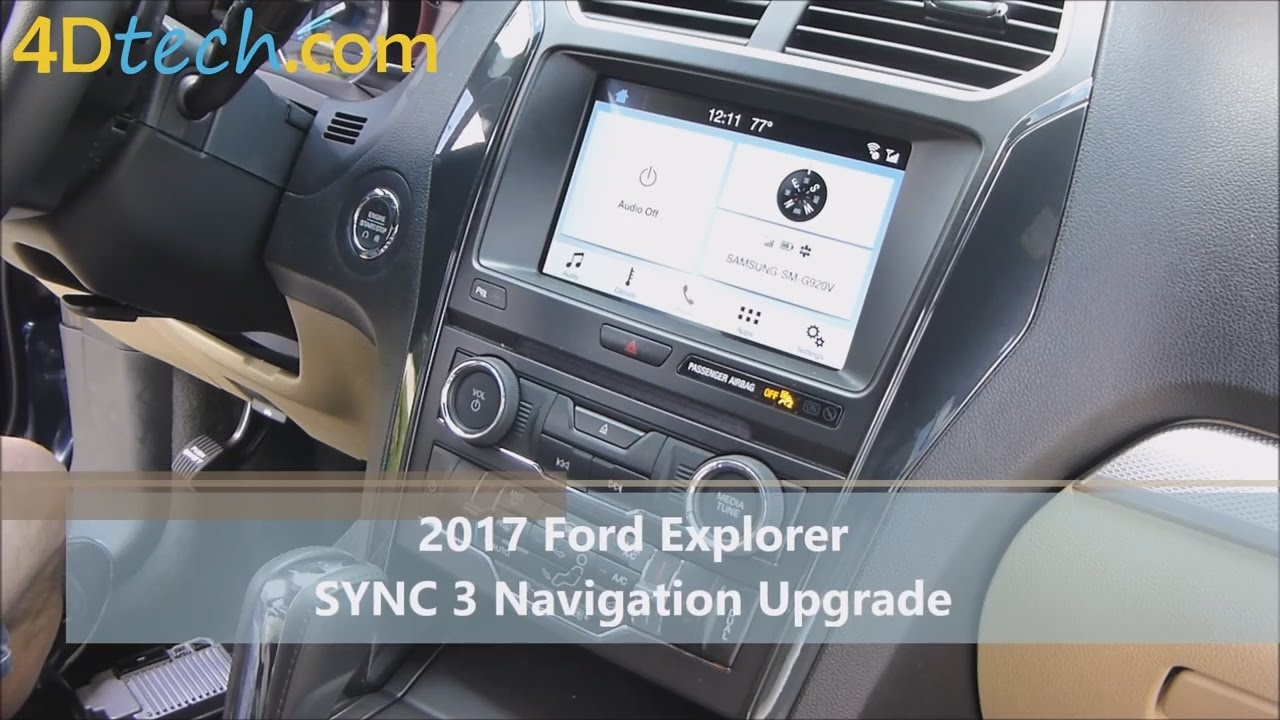 Add Factory Navigation to SYNC 3 | 2017+ Ford Explorer