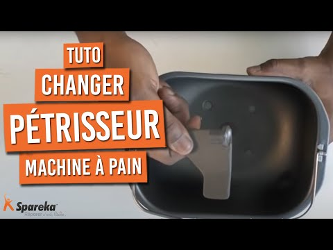 changer cuve et lame de p trissage de machine pain youtube
