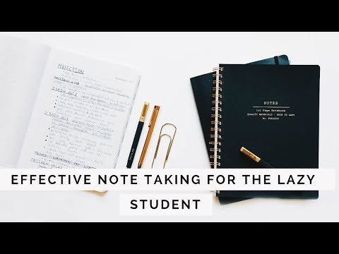 How To Take Notes | EASY + EFFECTIVE | SCHOOL + STUDY HACKS