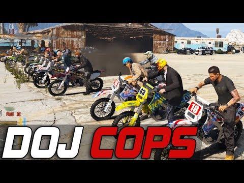 Dept. of Justice Cops #500 - Wild Deadly Races