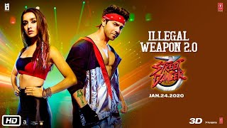 Illegal Weapon 2 0 LYRICS Street Dancer 3D Varun D, Shraddha K Jasmine Sandlas,Garry Sandhu