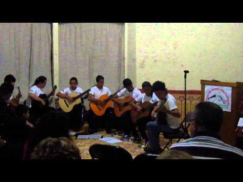 INTERPRETACION MUSICAL DEL MAESTRO RENE DURAN Y FILARMONICA DE CHALCHUAPA