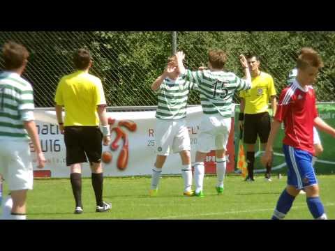 u16 Celtic v SK Rapid Wien - goal by Mark Hill - 1-0 - 260713