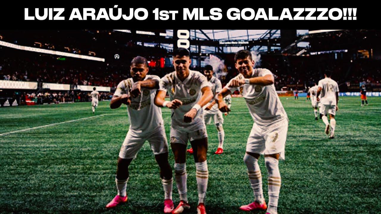 Luiz Araújo leaves defenders behind on his 1st MLS goal!
