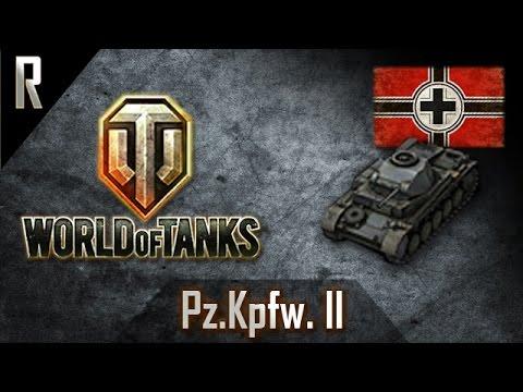 ► World of Tanks: Pz II, German Tier II light tank [9 kills, 1229 dmg]