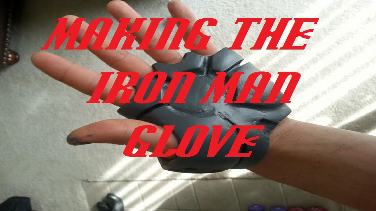 how to make iron man gloves