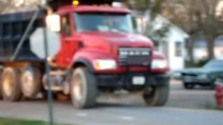 Mack Dump Truck Backing In