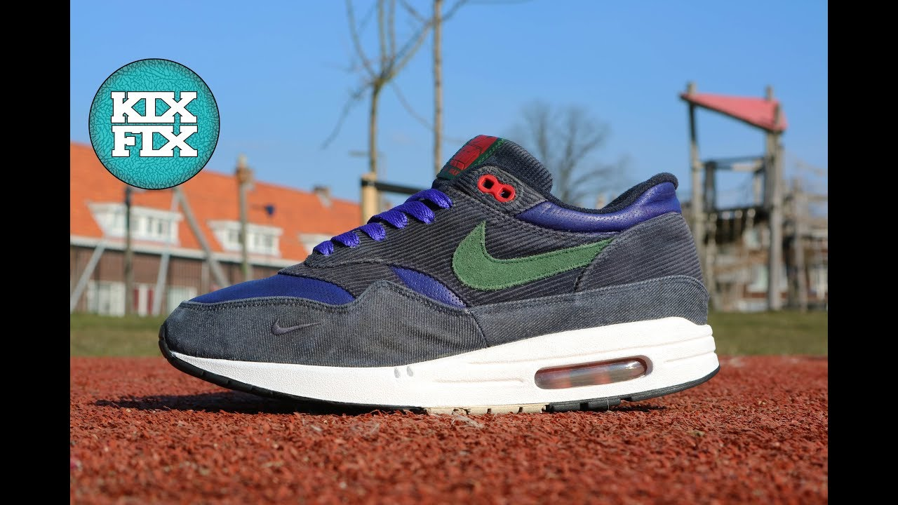 NIKE AIR MAX 1 PATTA CORDUROY RESTORATION #9 KIXFIX