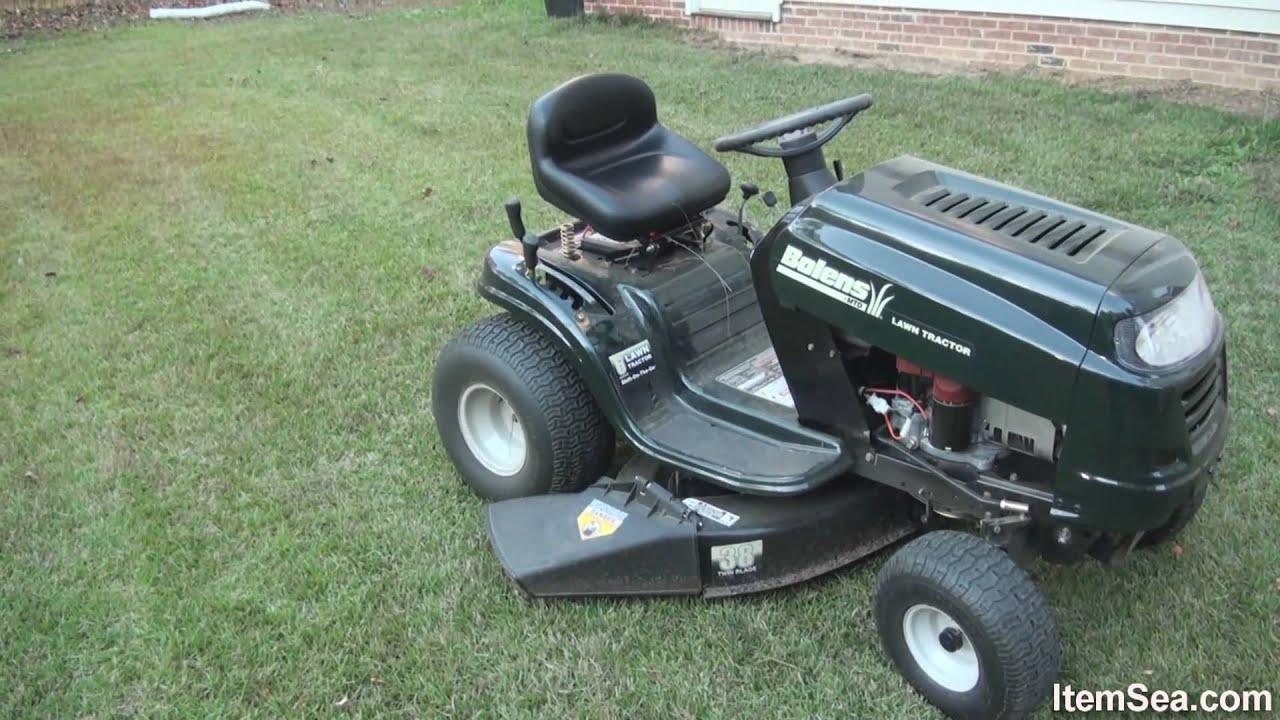 John Deere Bo Wiring Diagram Bolens 15 5 Hp Manual 38 Quot Cut Lawn Tractor Itemsea Youtube