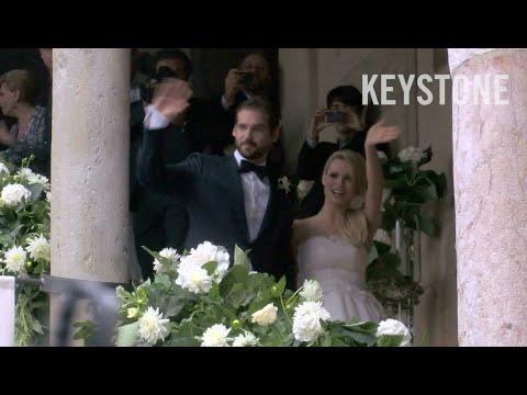 Michelle Hunzikers Hochzeit die Highlights  YouTube