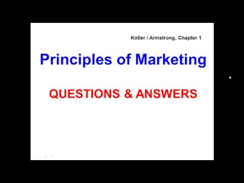 Principles Of Marketing Questions Answers Kotler Armstrong