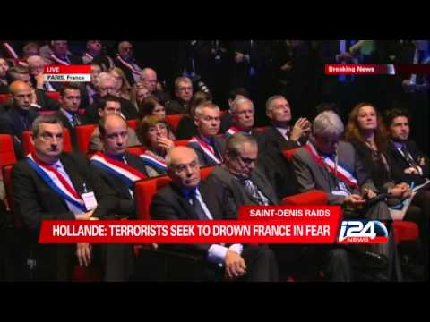 """""""Our duty is to maintain French daily life"""", says President Francois Hollande"""