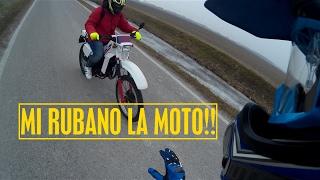 I MIEI AMICI MI RUBANO LA MOTO!!! Fantic Motor raider 50 & Aprilia sr 50