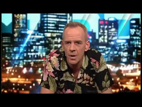 "Fatboy Slim - says ""Calvin Harris is the Son i'd love to of had"" Australian Tv Interview"