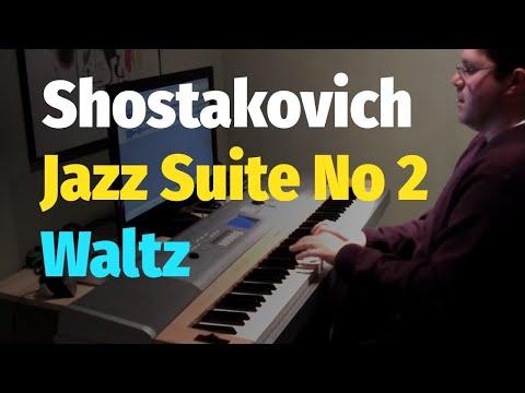 Jazz Suite No. 2: Waltz by Shostakovich (Eyes Wide Shut Soundtrack) - Piano