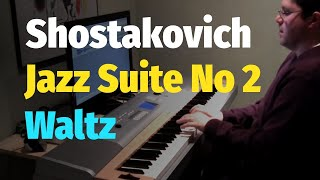 Jazz Suite No. 2: Waltz by Shostakovich (Eyes Wide Shut Soundtrack) - Piano