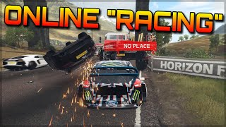 Forza Horizon 4 Online Moments   Chaos, Carnage, Noobs & Unimogs