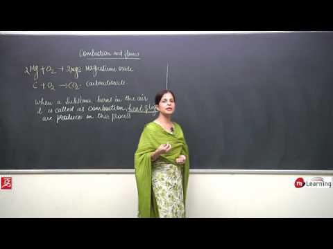 Combustion & Flames: What is Combustion - Definition & Chemical Equation - 01 For Class 8th and NTSE