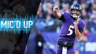 "Joe Flacco Mic'd Up vs. Saints ""I Bought a Mattress From Your Brother on the Jersey Shore"" 