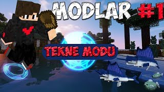 Tekne Modu || Minecraft Modları Seri #1(Small Boats Mod)