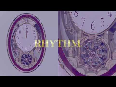 Rhythm 4MH830WD23 Enchantment Musical Wall Clock
