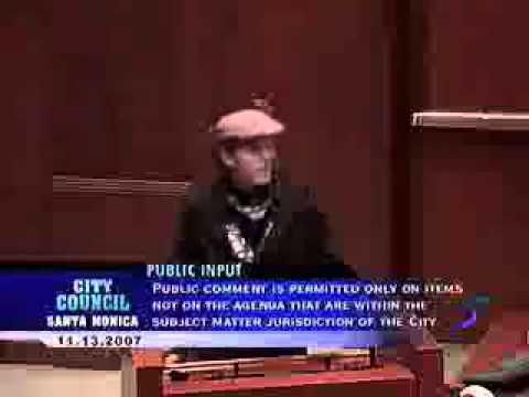 Santa Monica City Council Public Comment on Nov. 13, 2007
